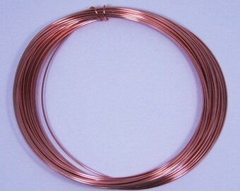 Dead Soft 21 GA Copper Crafters and Jewelry Makers Wire 25 Feet