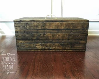 Large wooden Box 36x14x20