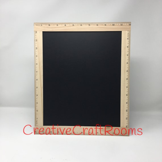Ruler Framed Blank Chalkboard, Ruler Frame Photo Prop Sign, Framed Ruler Chalkboard Sign, School Ruler Blackboard, Ruler Chalkboard