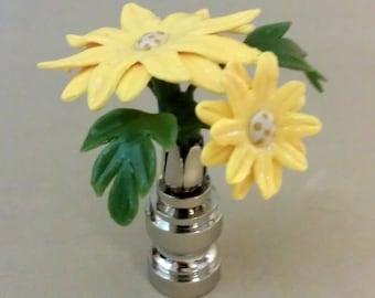 Daisy Lamp Finial