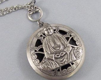 Scented Buddah,Locket,Apothecary,Choose Your Scent,Lavender,Buddha Necklace, Locket,Scent Locket,Buddha Locket,Jewelry, valleygirldesign