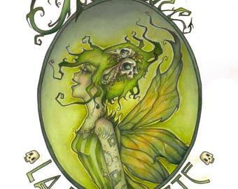 Green Fairy - Original Painting