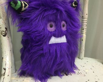 Monster - Purple Handmade Monster