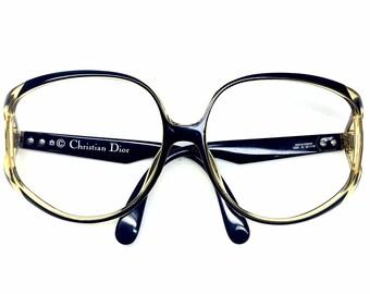 vintage Christian Dior eyeglass frames 2320 glasses oversized designer glasses