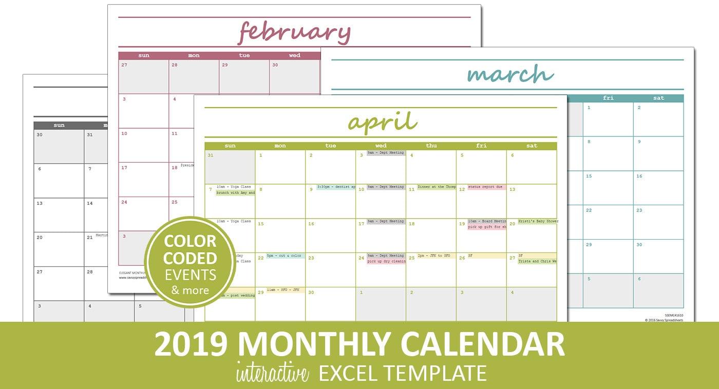 Tolle Monatliche Leere Kalendervorlage Bilder - Beispiel ...