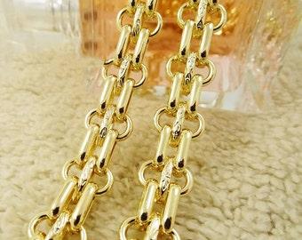 12mm Golden Purse Watch Chain, Metal Chain, Handbag Supply, Purse Chain Strap, Replacement Shoulder Chains, Cross BodyChain, High Quality