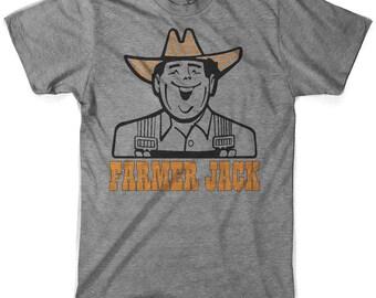 Vintage Farmer Jack Triblend Made in USA
