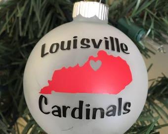 University of Louisville Ornament