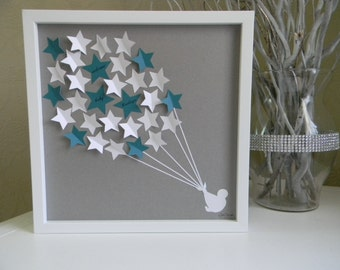 Baby Shower Guestbook Alternative, Baby Shower Gift, Personalized Baby Room  Decoration. Unique Baby