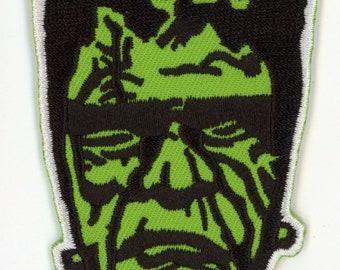 Frankenstein Patch Halloween Gothic Monster Kid Classic Horror Punk Rock Universal Monster Don Post Mask NFP004
