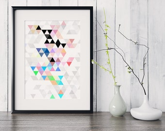 Art Prints Geometric Art Geometric Print Gallery Wall Art Geometric Nursery Minimalist Wall Art Minimalist Print Dorm Poster