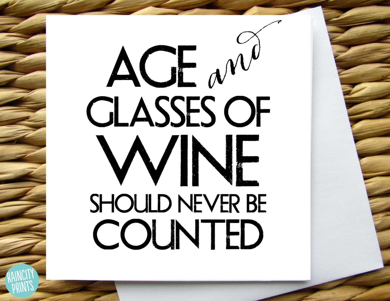 Wine birthday card age and glasses of wine should never be zoom bookmarktalkfo