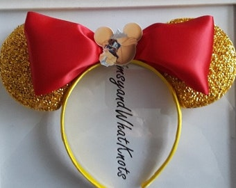 Beauty and the Beast Minnie Mouse Ears-2
