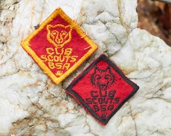 Vintage Cub Scout Patches