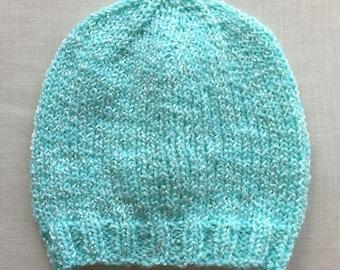 Bright Mint Green Baby Cap