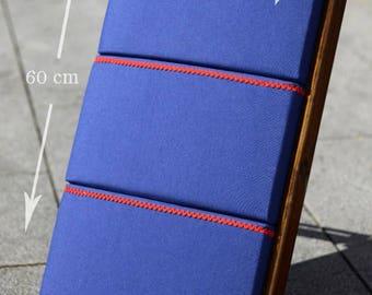 Bobbin Lace Pillow Puzzle-Blue Canvas