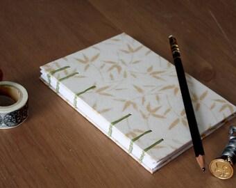 Medium Coptic Stitch Dot Grid Notebook, Journal