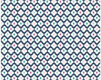 Riley Blake Enchanted Medallions/Navy/Cotton/Fabric/ Sewing/ Quilting/Quilt