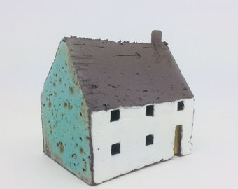 House with Turquoise Gable