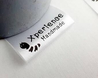 Custom clothing labels - logo - Inside label