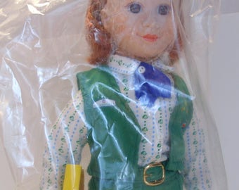 Avon 1995 Tender Memories Doll Collection Junior Girl Scout Doll MIB NOS NBO Girl Gift Girl Scout Gift Girl Scout Collector Doll