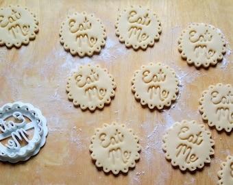 Fancy Eat Me Cookie Cutter