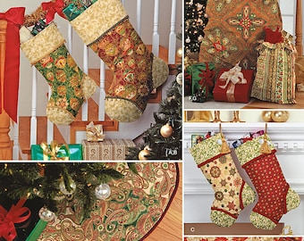 Simplicity Sewing Pattern 1577 Holiday Décor