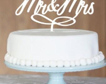 Mr&Mrs cake topper, Wedding Cake Topper, cake topper, Mr and Mrs, custom cake topper, monogram cake toppers