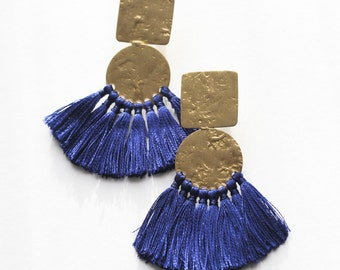 Fiercely Cobalt Earrings