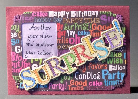 Happy Birthday Card Surprise 4509