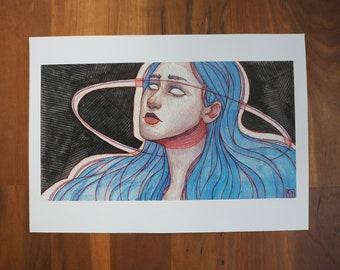 Saturn Print A4