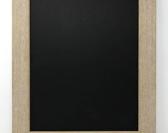 """12x16 1.75"""" Rustic Beige Solid Wood Picture Frame"""