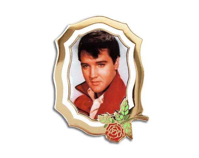 Elvis Forever Pin