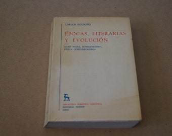 Vintage 1981 - Signed Carlos Bouson Poetry Collection - Spanish Language Poetry