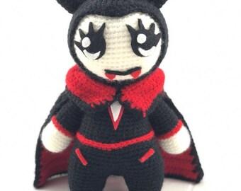 Vampire crochet pattern / PDF EN