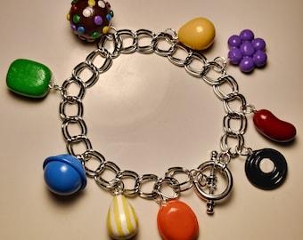 Candy Crush Saga charm bracelet