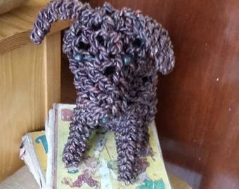 Hand made rope dog - made in bali