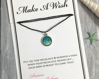 Mermaid Scale Wish Necklace - Buy 3 Items, Get 1 Free