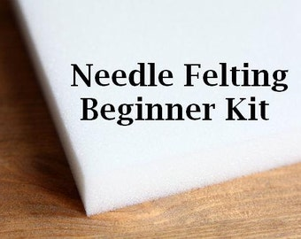 Needle Felting Kit - Needle Felting Starter Kit - Beginner Kit - Needle Felt Tools - Felting Tools - Needle Felting Starter - DIY Kit