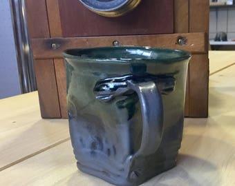 Cup ceramic stoneware