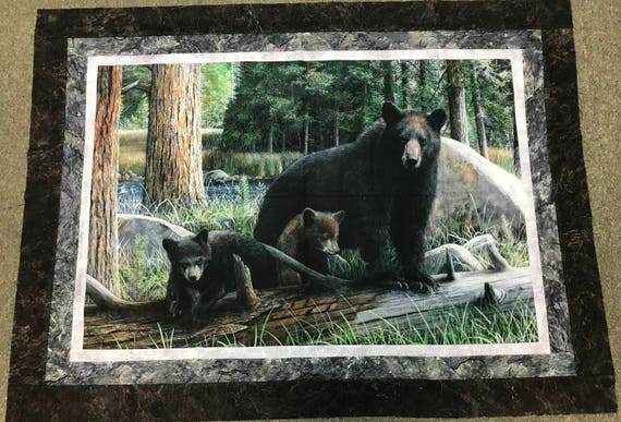 "Naturescapes ""Black Bear Adventure"" Quilt Kit"