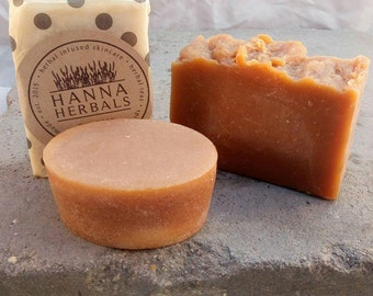 Amber Noir Goats Milk Soap - All Natural Soap - Cold Processed Soap