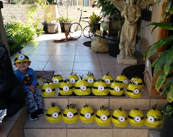 Minion party hats