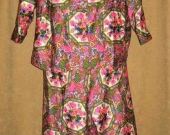 60s Lane Bryant Pantsuit Plus Size Vintage