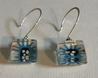 Funky Origami Dangle Earrings