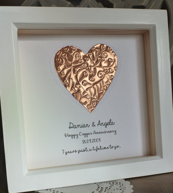 22nd wedding anniversary copper gifts
