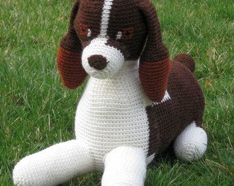 Tilly the Springer Spaniel pattern