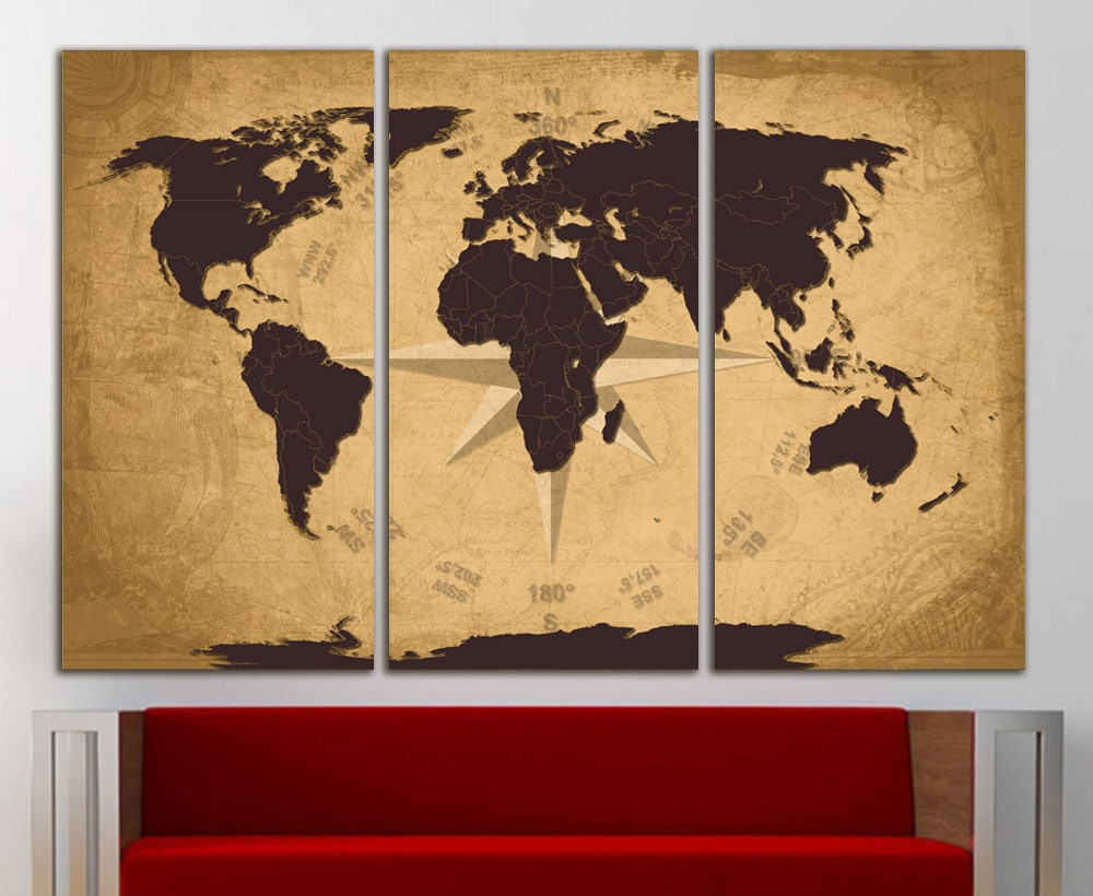 Funky World Wall Decor Image - Wall Art Collections ...