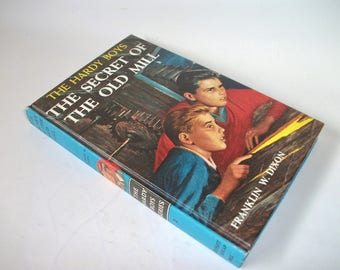 Hardy Boys Hollow Book Safe Secret of the Old Mill Hollowed out Book Secret Stash Compartment Keepsake box