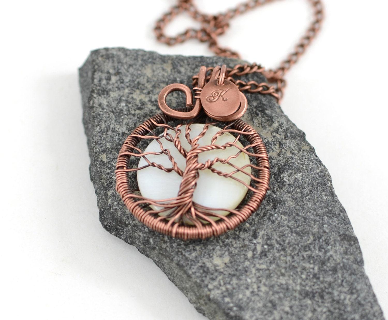 Ersten Lebensbaum Halskette personalisiert Family Tree